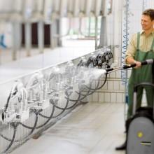 За професионални водоструйни и пароструйни машини KARCHER